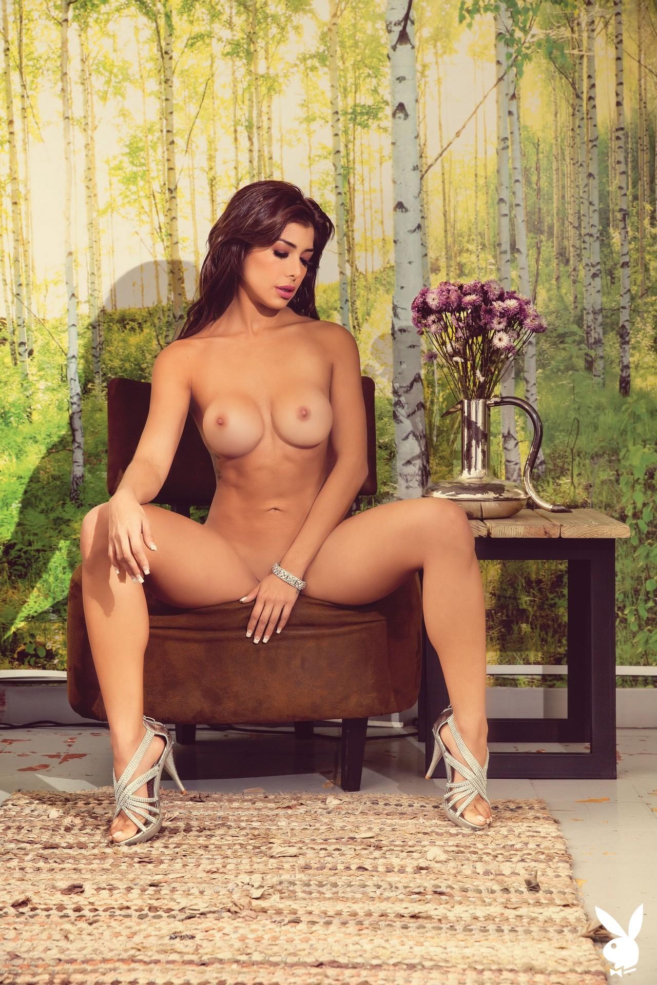 Ana Espinola In Playboy Mexico (1)