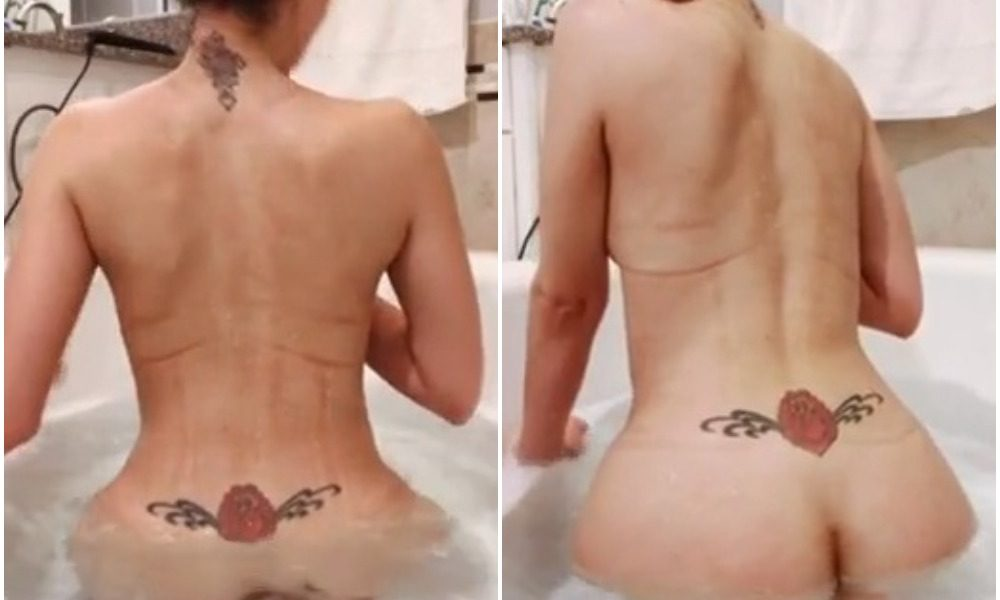 Cincinbear Nude Shower Porn Video Leaked
