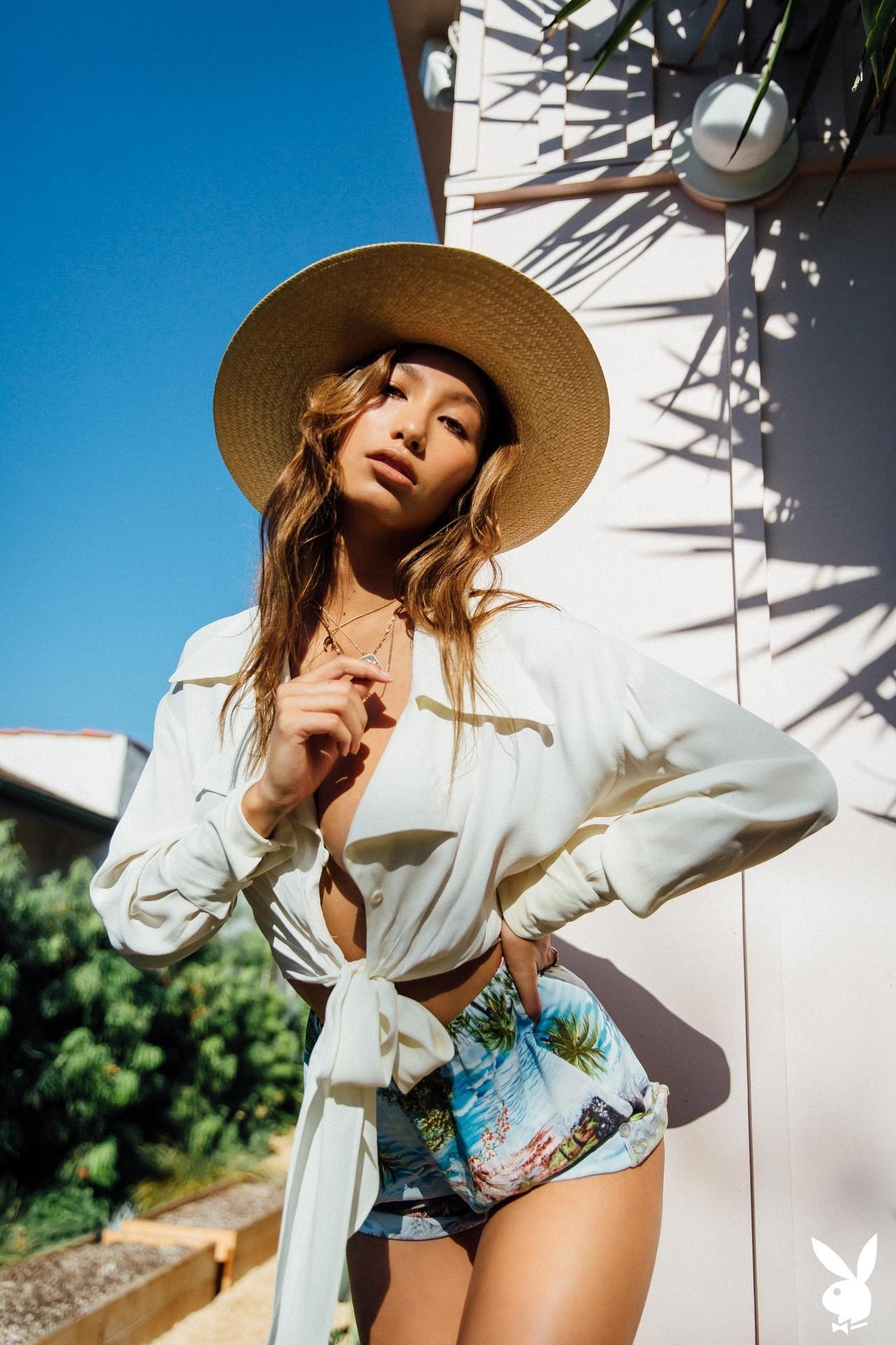 Dominique Lobito In Desert Chic Playboy Plus (2)