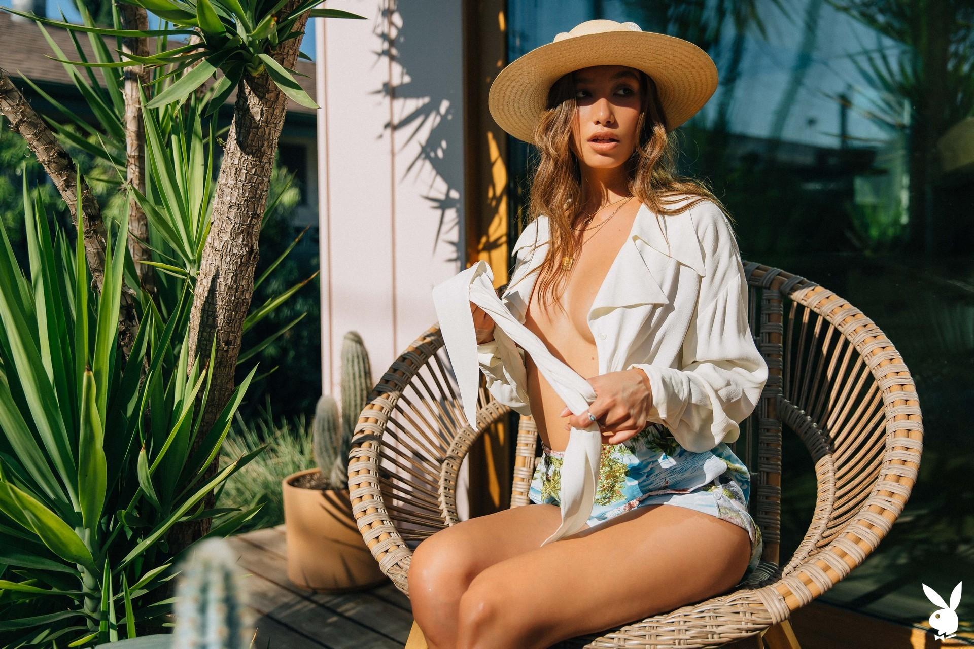 Dominique Lobito In Desert Chic Playboy Plus (6)