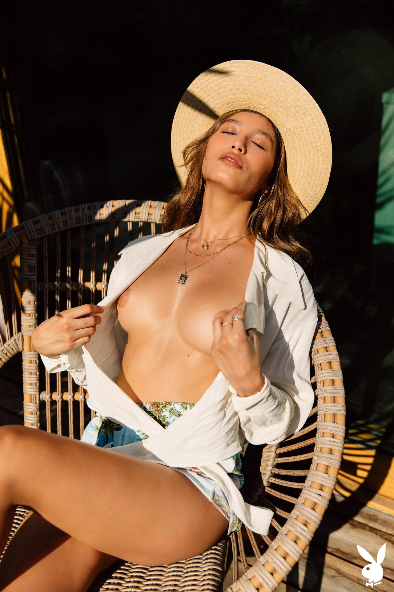 Dominique Lobito In Desert Chic Playboy Plus (7)