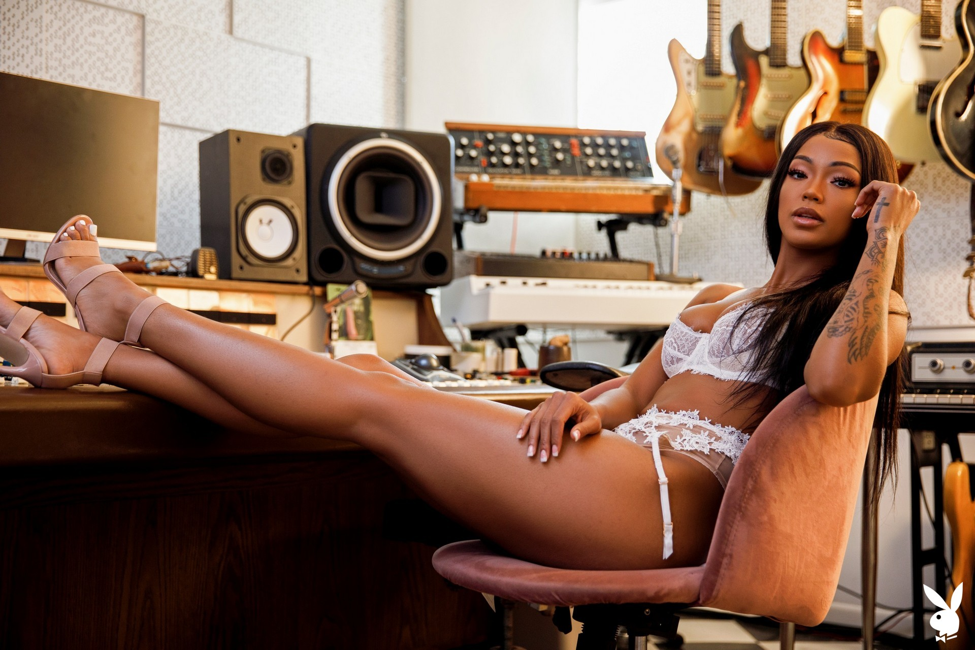 Harley Dean In Studio Session Playboy Plus (10)