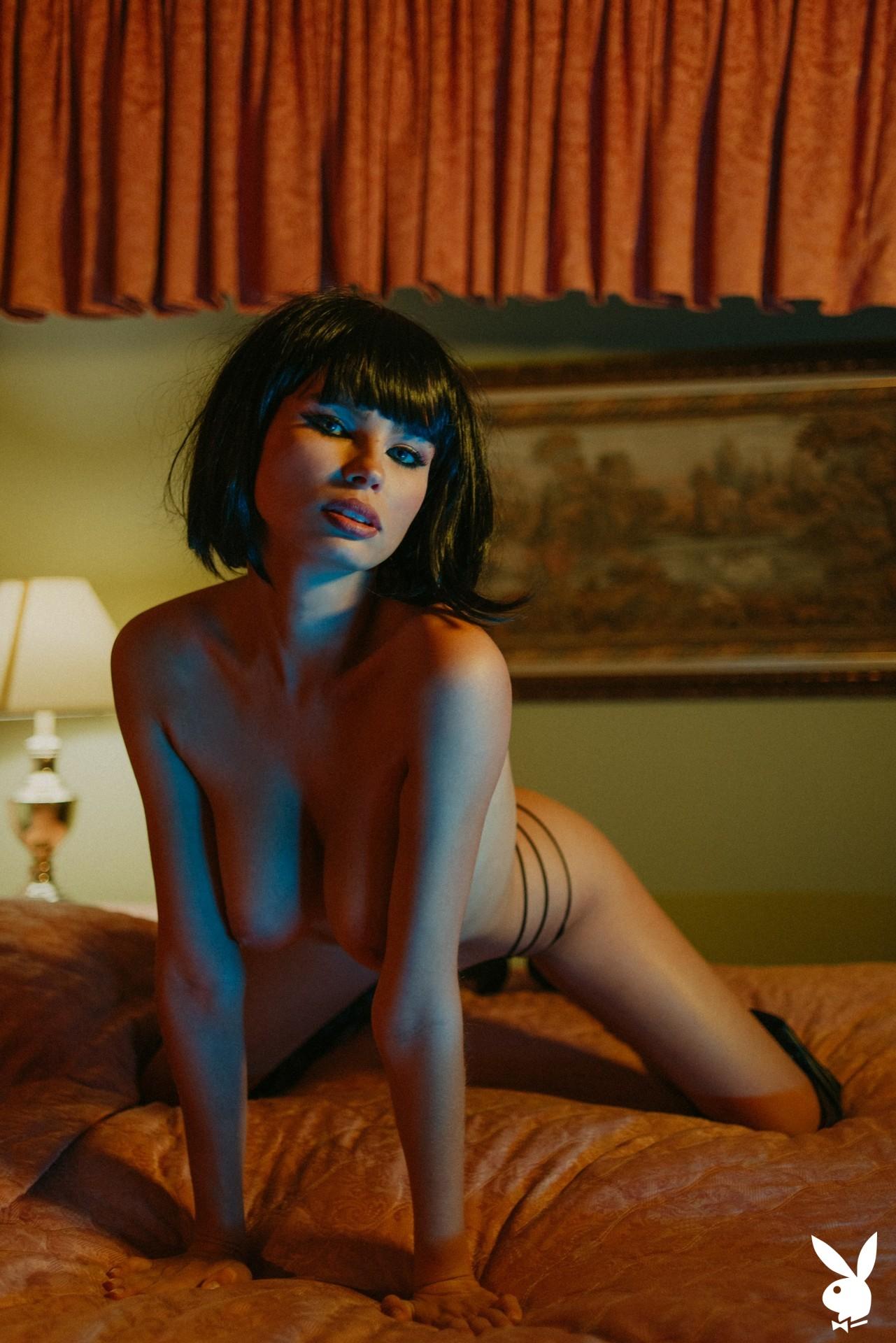Julia Logacheva Is Incognito Playboy Plus (10)