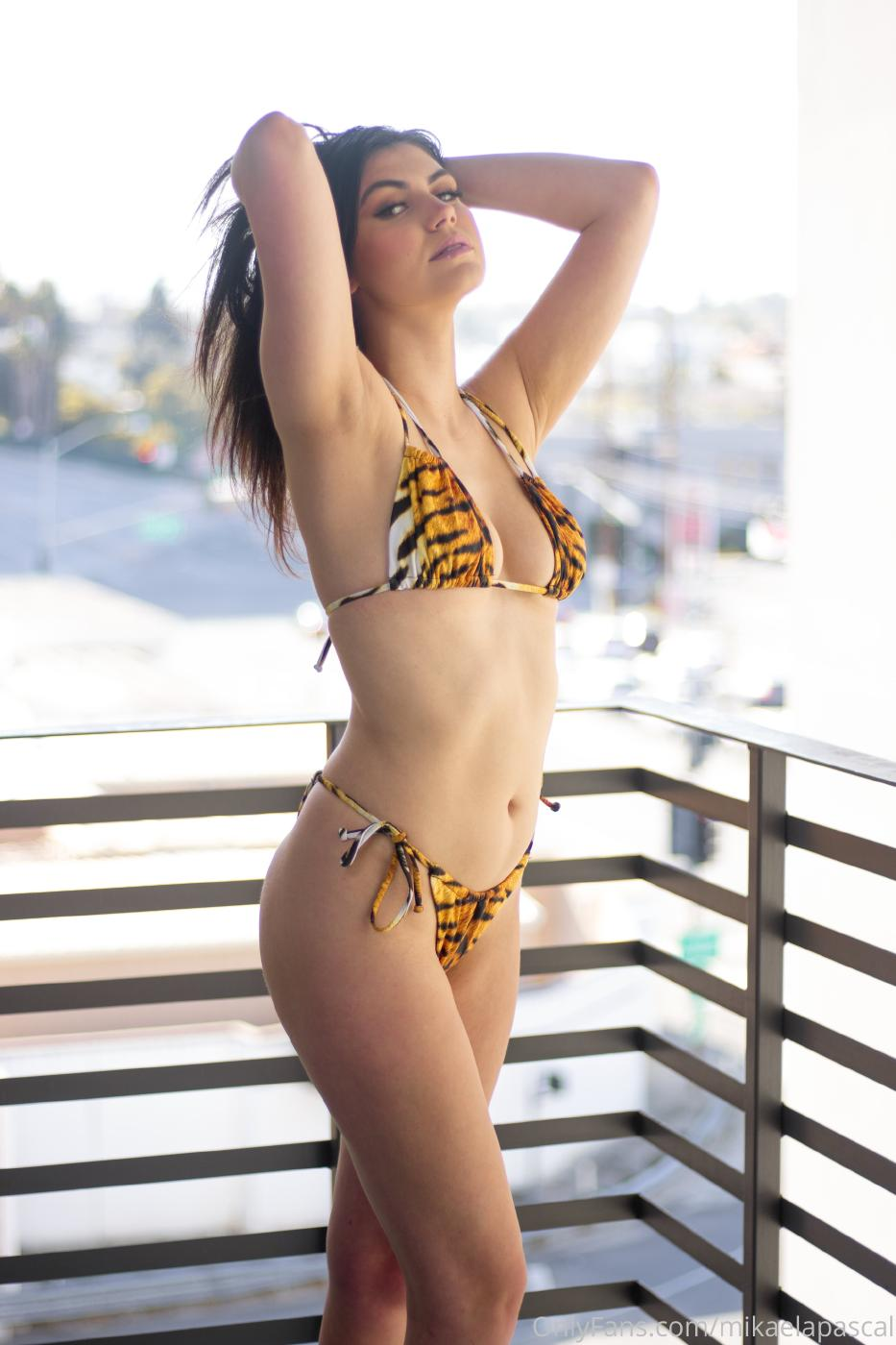 Mikaela Pascal Nude Tiger Bikini Photos Leaked 0003