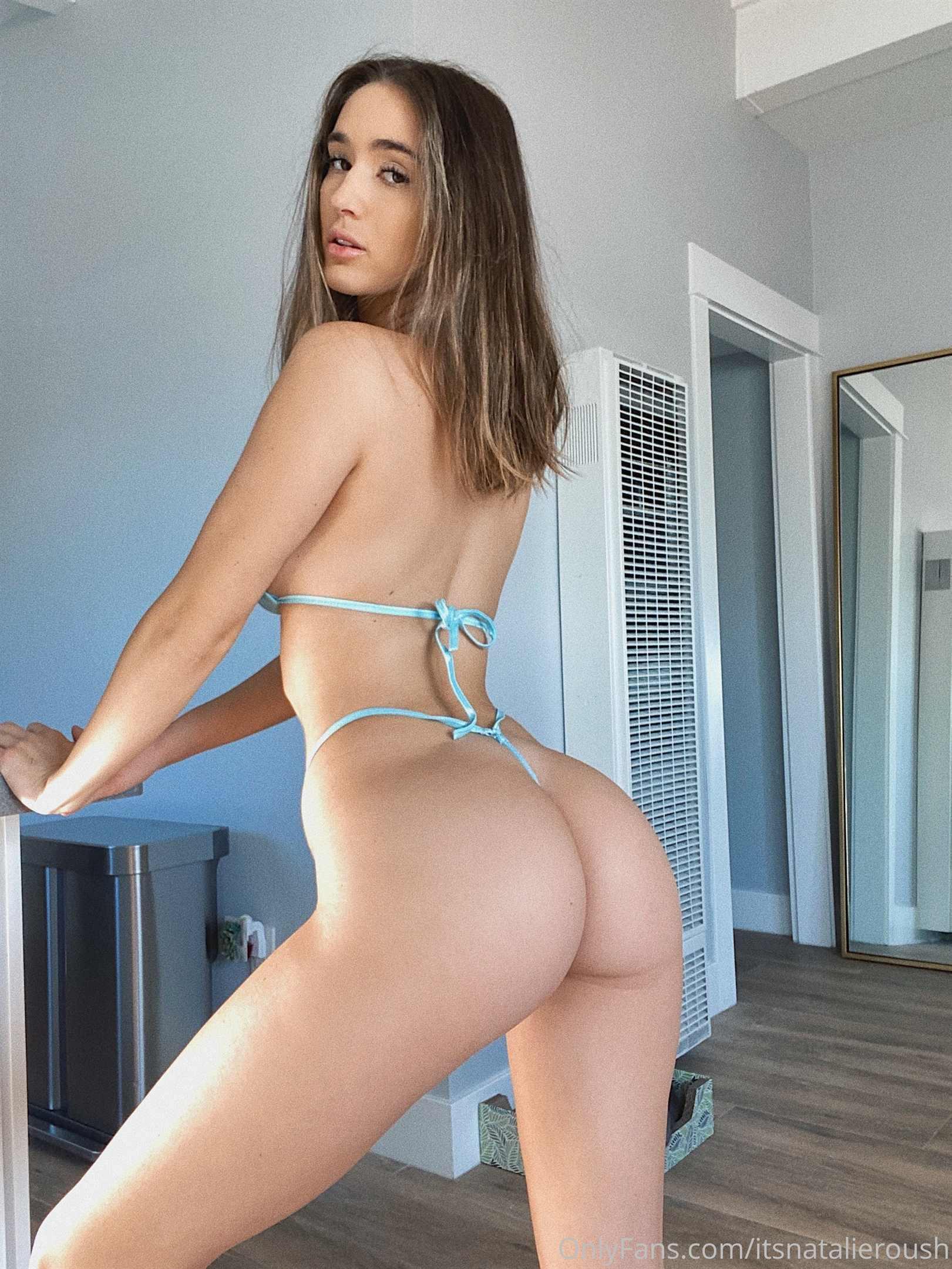 Natalie Roush Micro Bikini Try Nude Leaked 0002