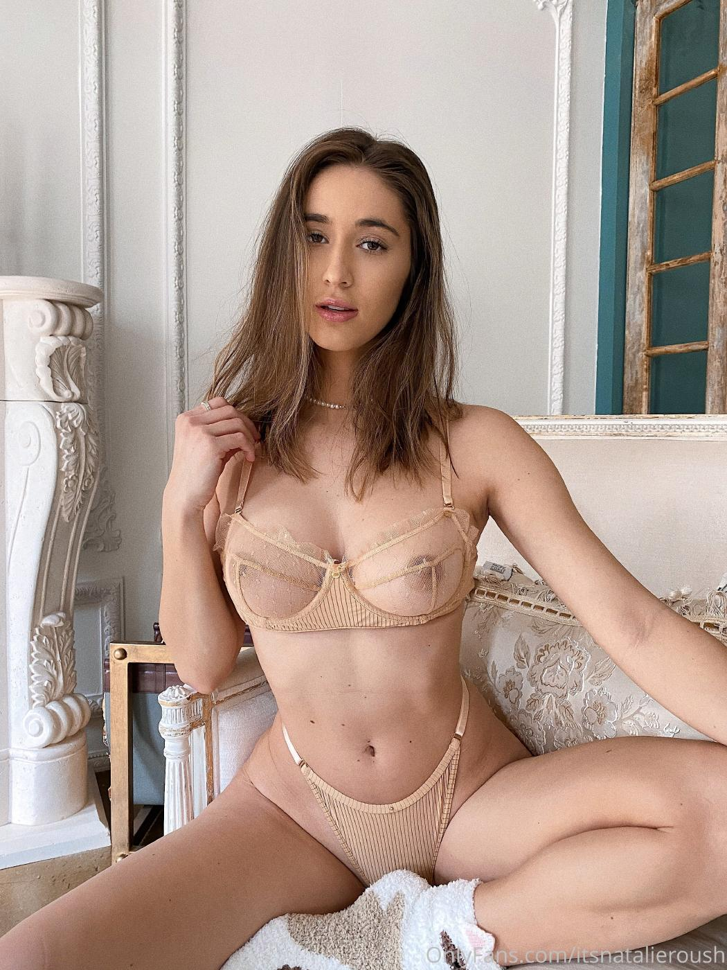 Natalie Roush Nude Sheer Bra Onlyfans Set Leaked 0004