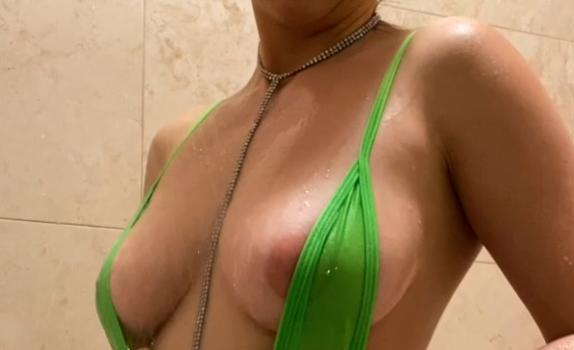 Christina Khalil Shower Nip Slip Onlyfans Video
