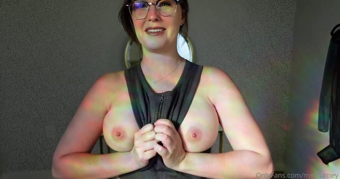 Meg Turney Nude Active Wear Try On Onlyfans Video