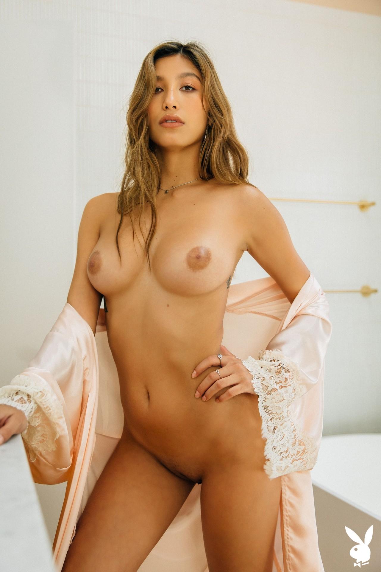 Dominique Lobito In En Suite Playboy Plus (10)