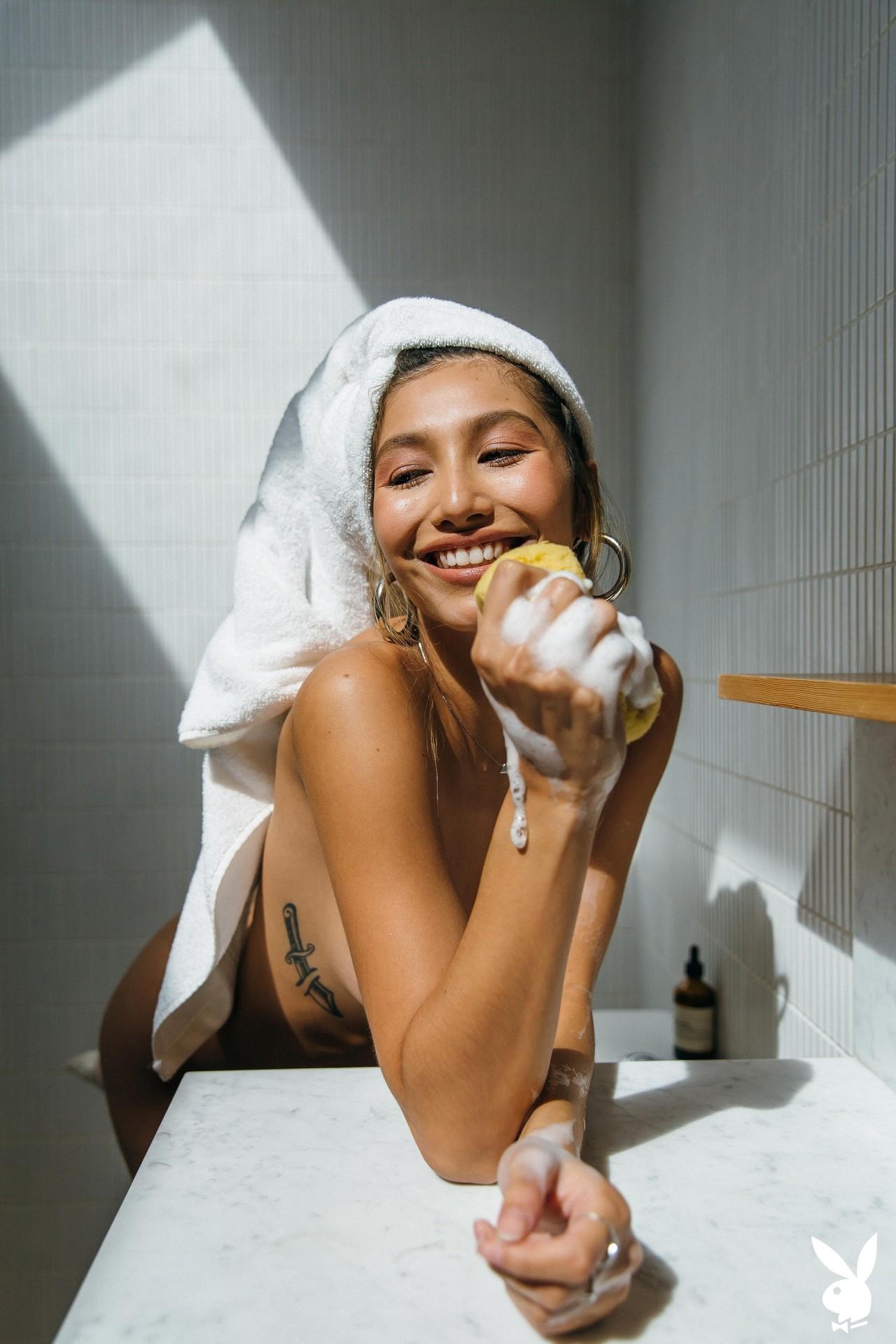 Dominique Lobito In En Suite Playboy Plus (13)