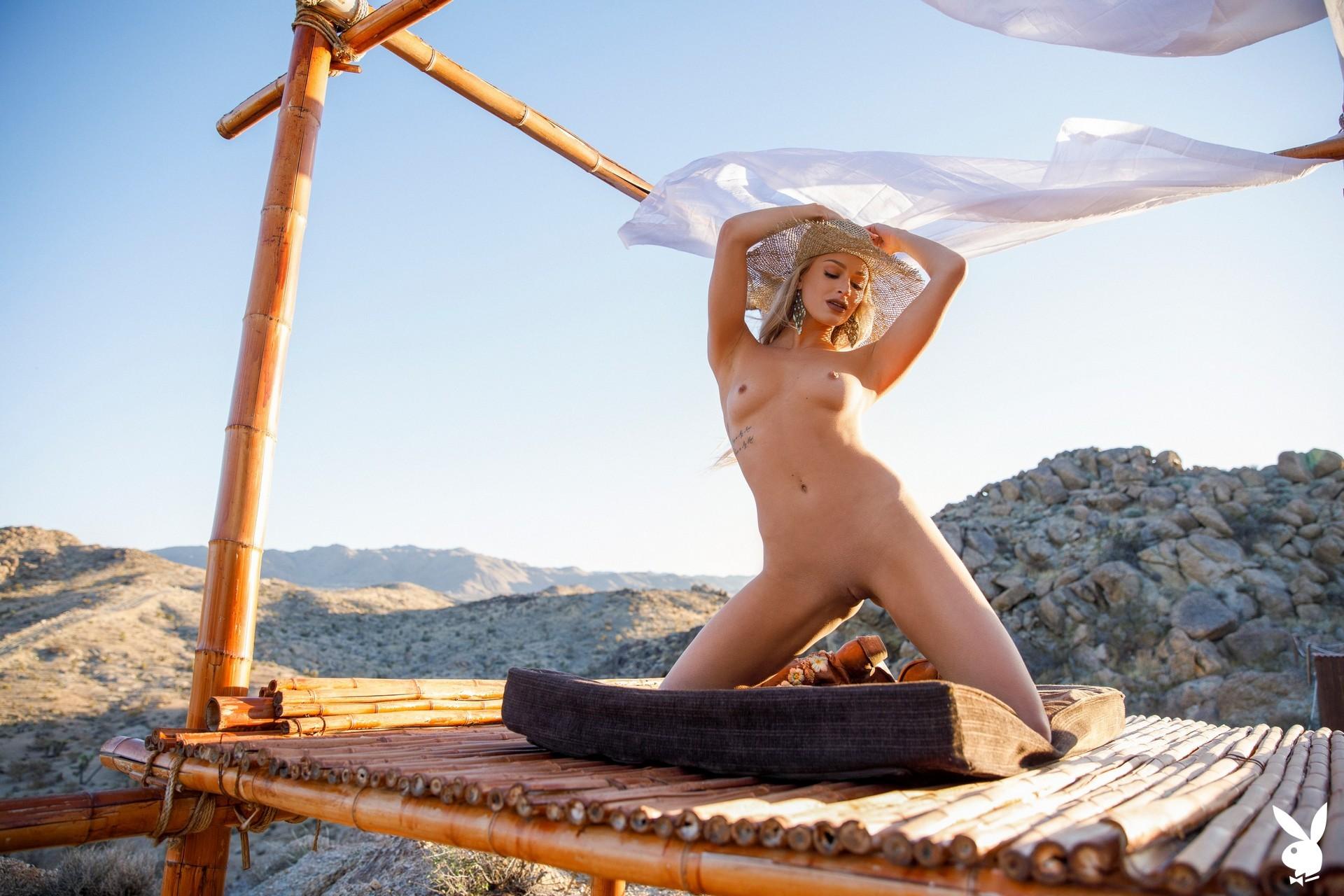 Emma Hix In Desert Sunset Playboy Plus (22)
