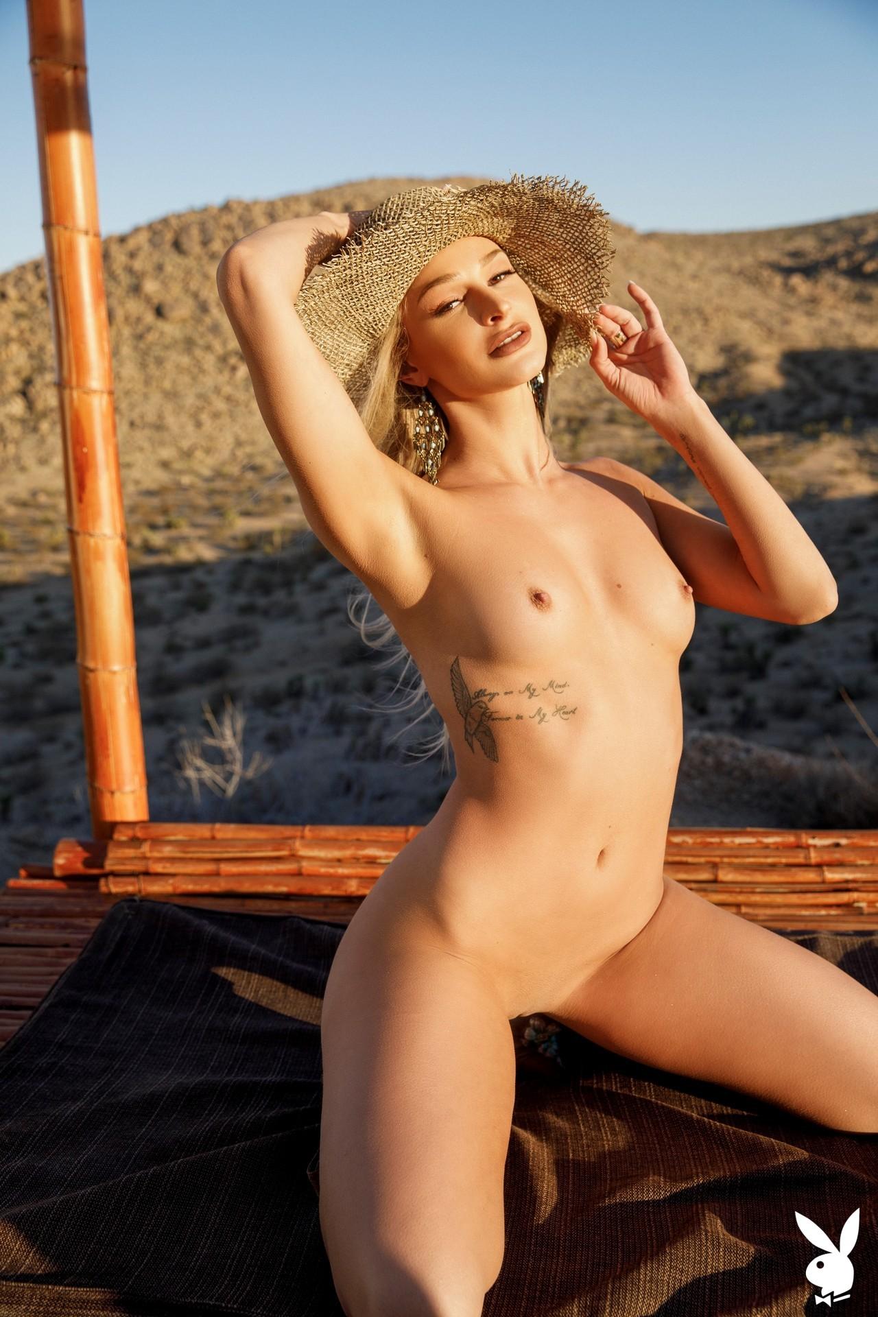 Emma Hix In Desert Sunset Playboy Plus (28)