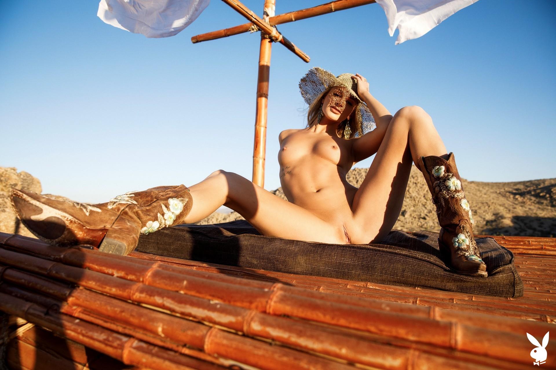 Emma Hix In Desert Sunset Playboy Plus (32)