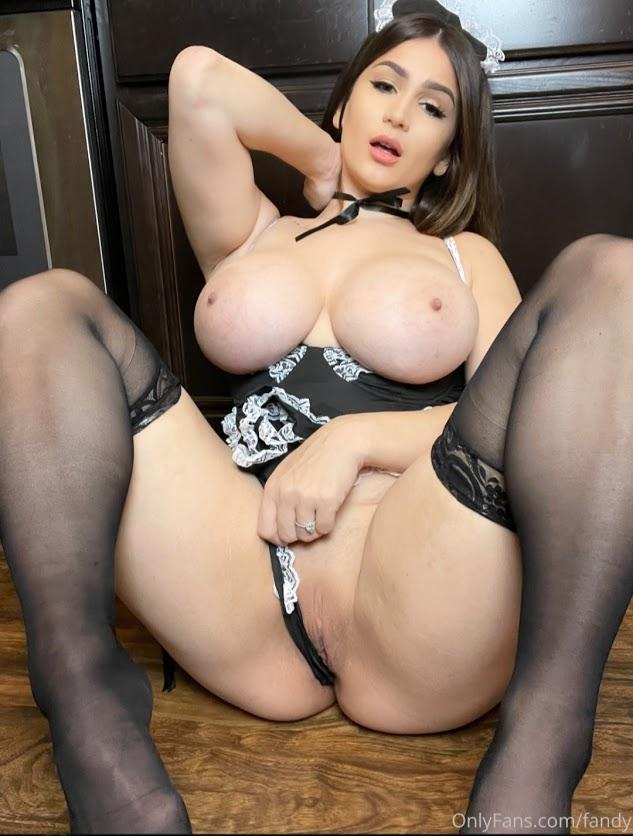 Fandy Naughty Maid Onlyfans Set Leaked 0006
