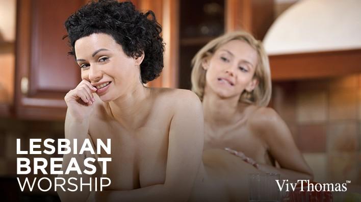 Lustcinema Lesbian Breast Workship