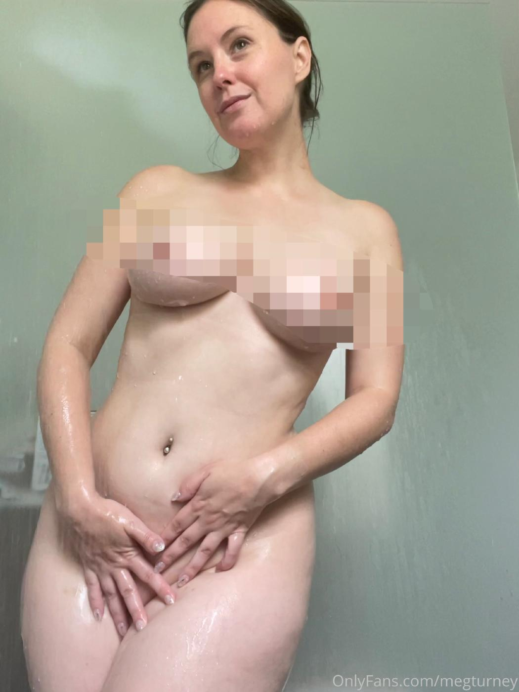 Meg Turney Extra Spicy Shower Candid Onlyfans Set Leaked 0004