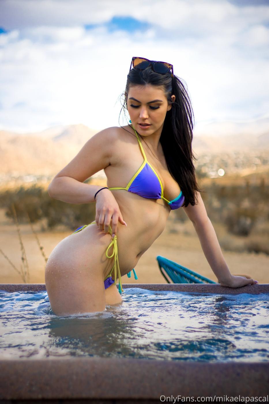 Mikaela Pascal Hot Tub Onlyfans Set Leaked 0003