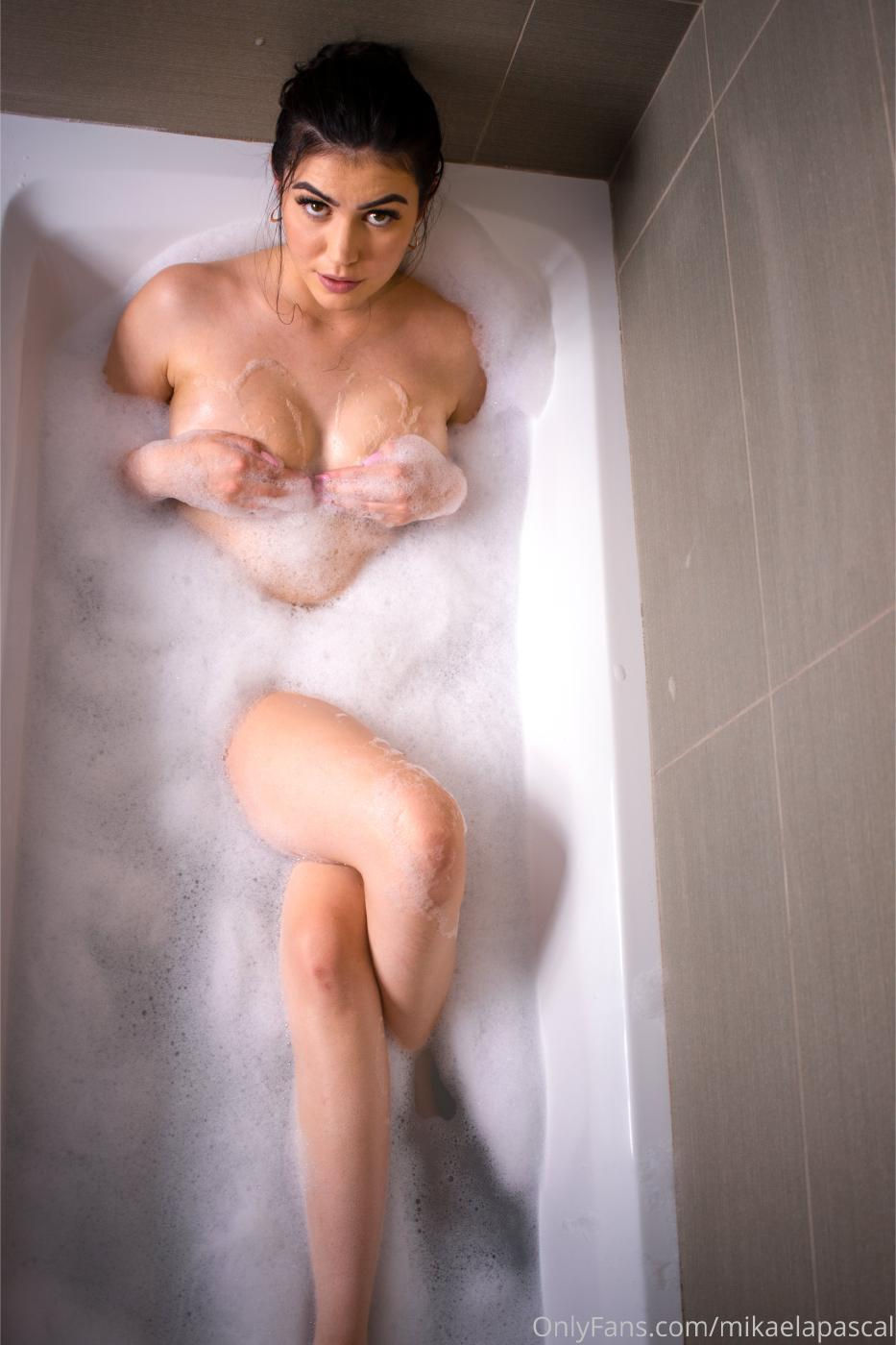 Mikaela Pascal Nude In Bath Onlyfans Set Leaked 0006