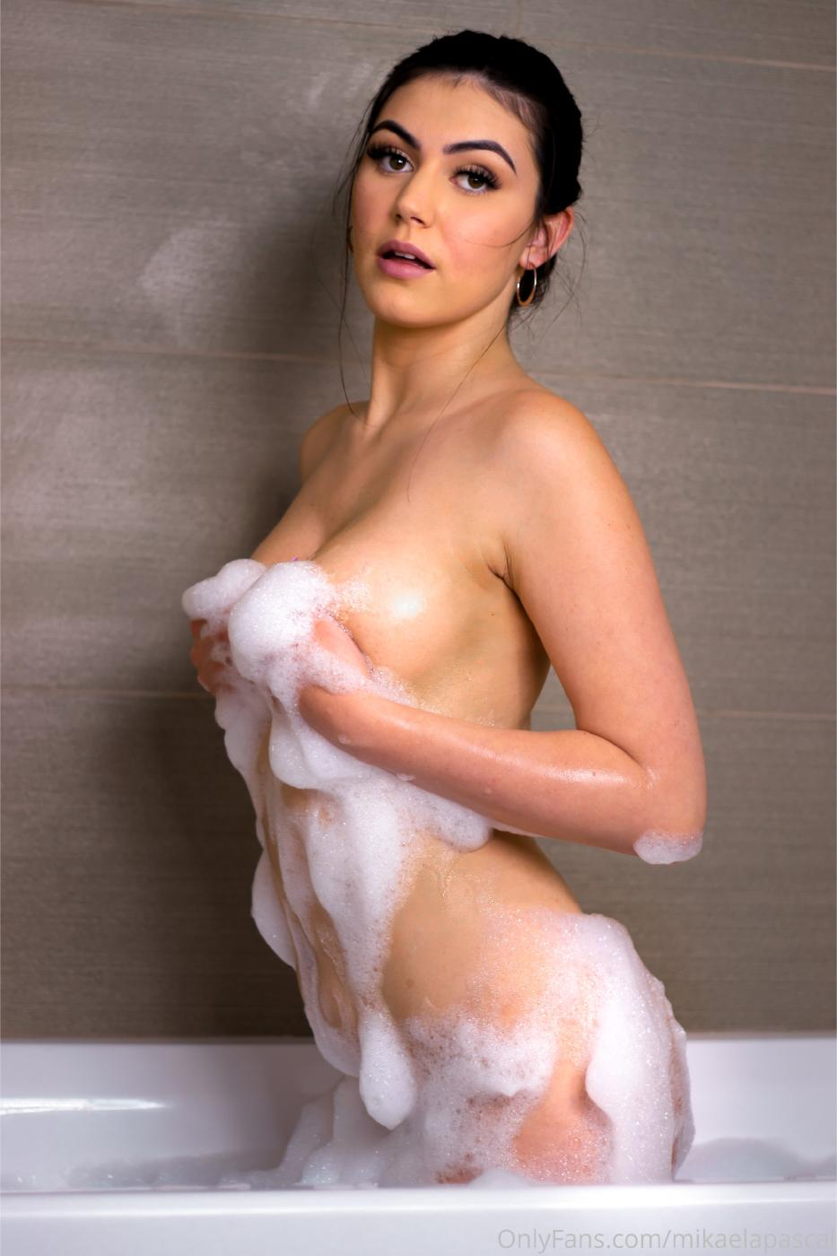 Mikaela Pascal Nude In Bath Onlyfans Set Leaked 0008
