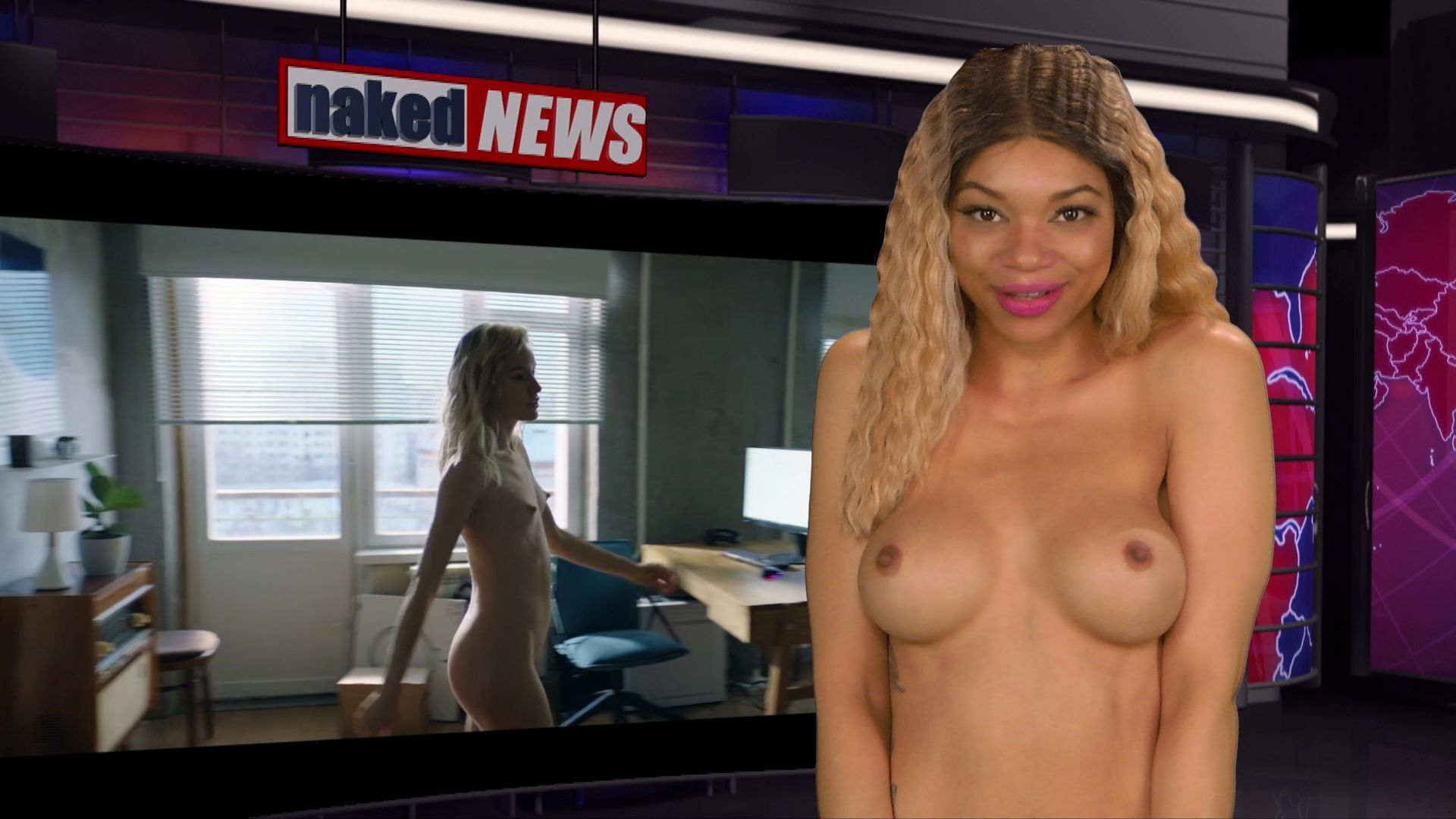 Naked News Beautiful Nudes, Hot Naked Females, Nude Weather Girls 0004