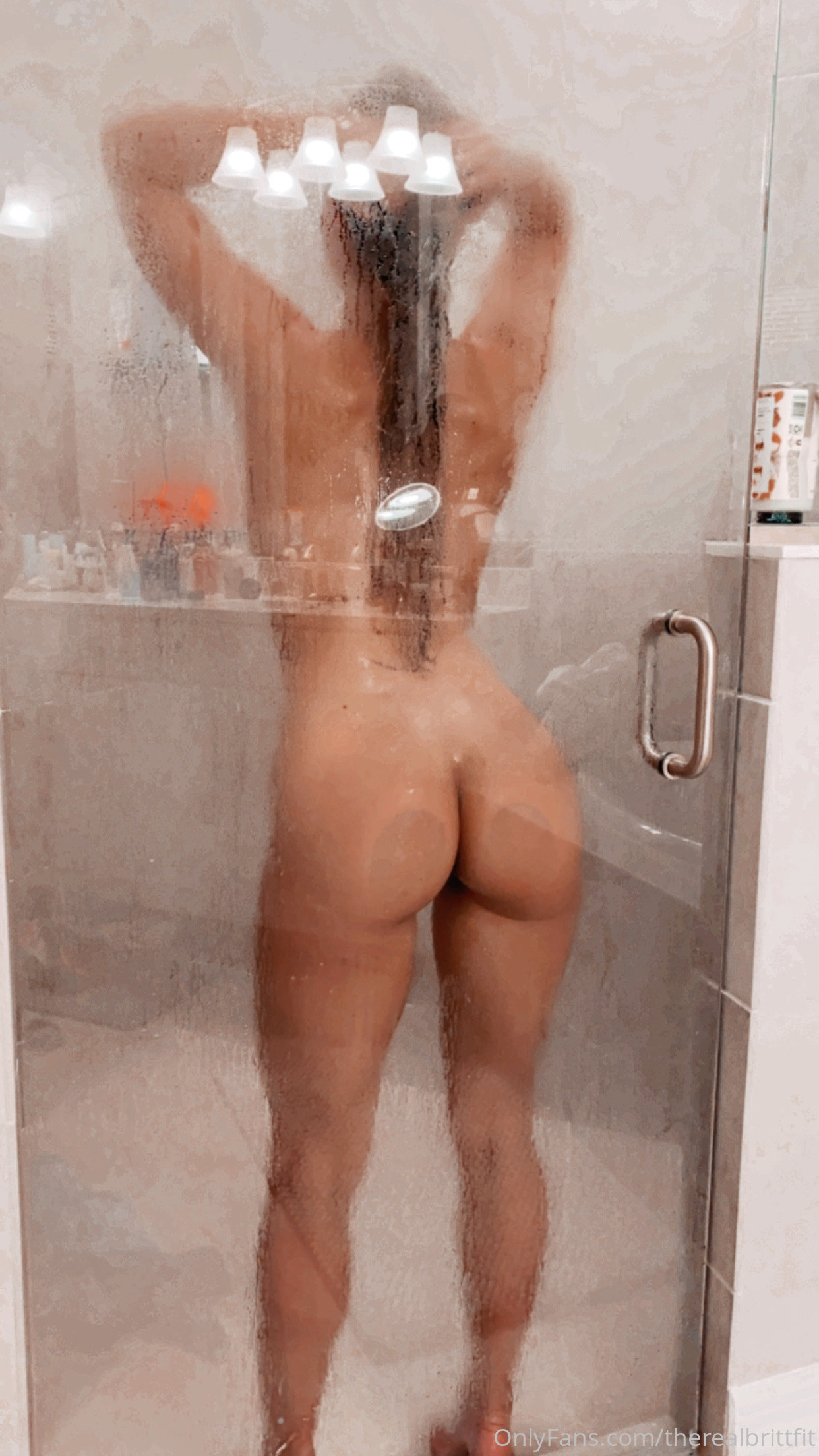Therealbrittfit Latest Nude Onlyfans Leaked 0006