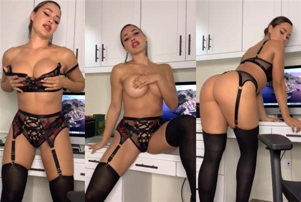 Ana Cheri Sexy Secretary Tease Video Leaked