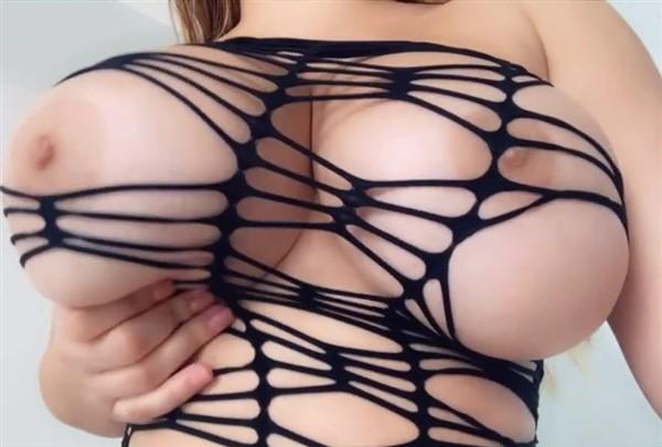 Anastasiya Kvitko Nude Fishnet Big Tits Tease Video Leaked