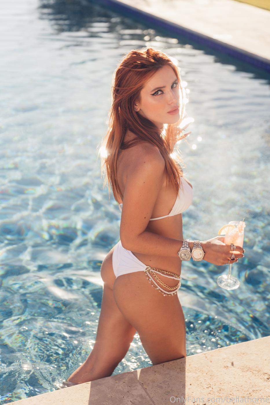 Bella Thorne Pool Bikini Onlyfans Set Leaked 0016