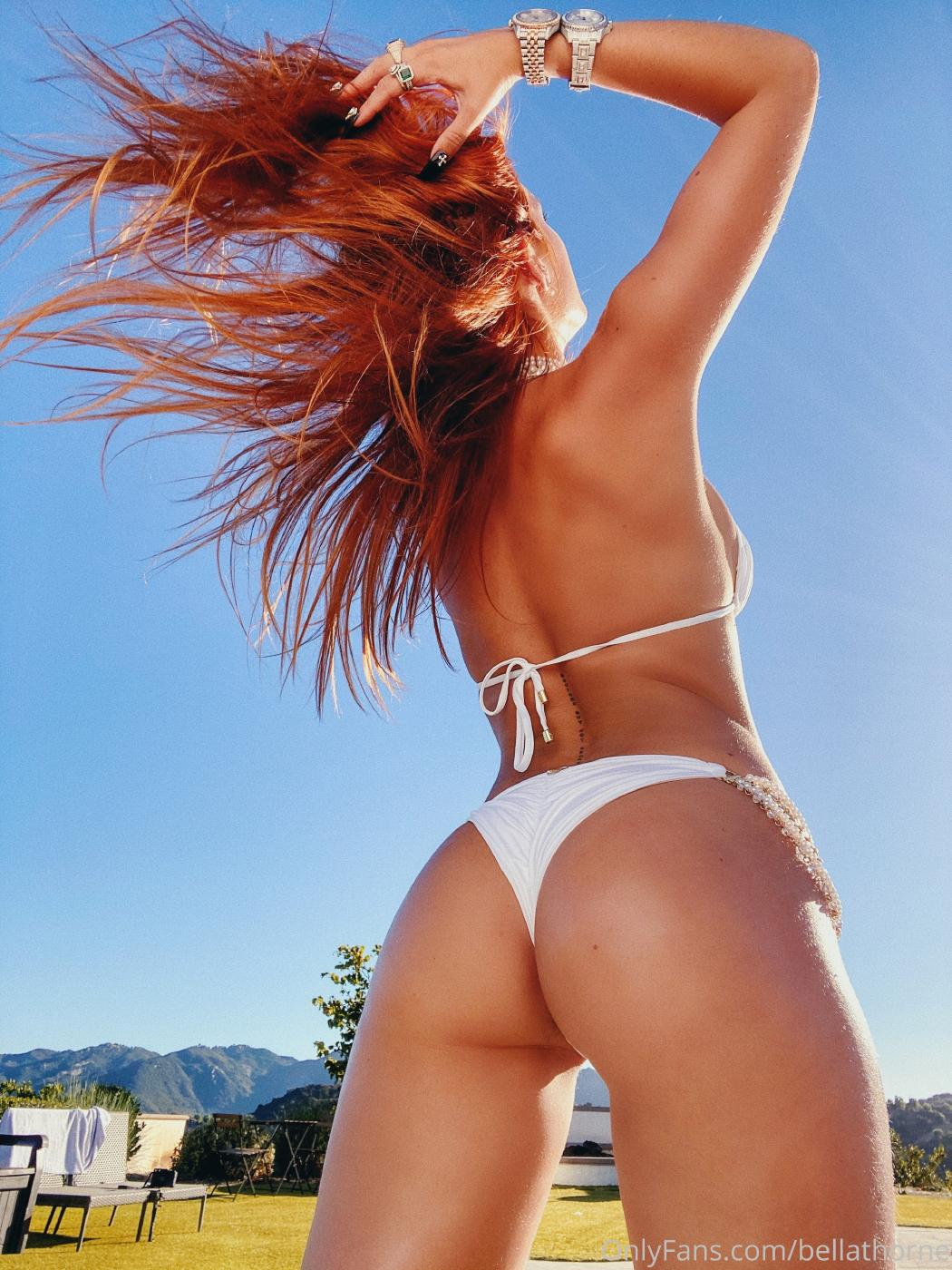 Bella Thorne Pool Bikini Onlyfans Set Leaked 0020