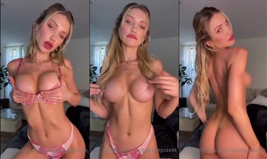 Gabby Epstein Nude Nip Slip While Teasing Video Leaked