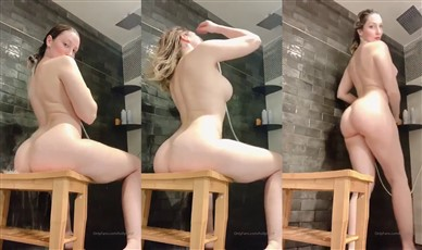 Holly Wolf Nude Shower On Stool Video Leaked
