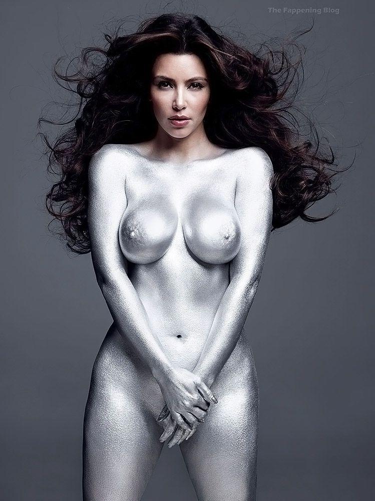 Kim Kardashian Nude And Sexy 0009