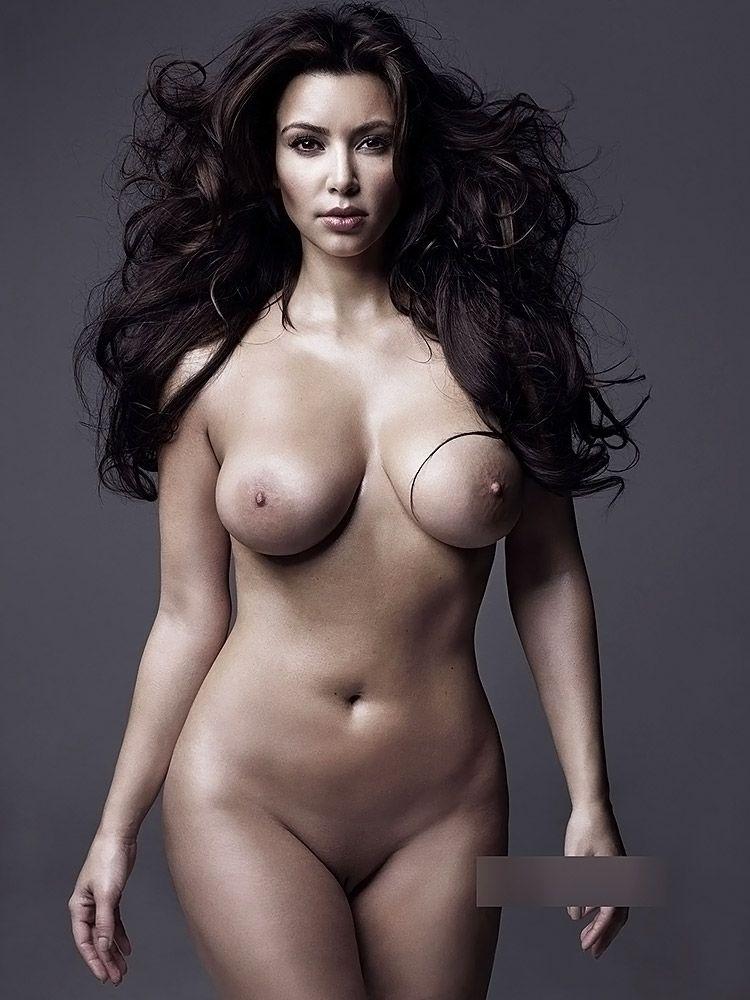 Kim Kardashian Nude And Sexy 0010