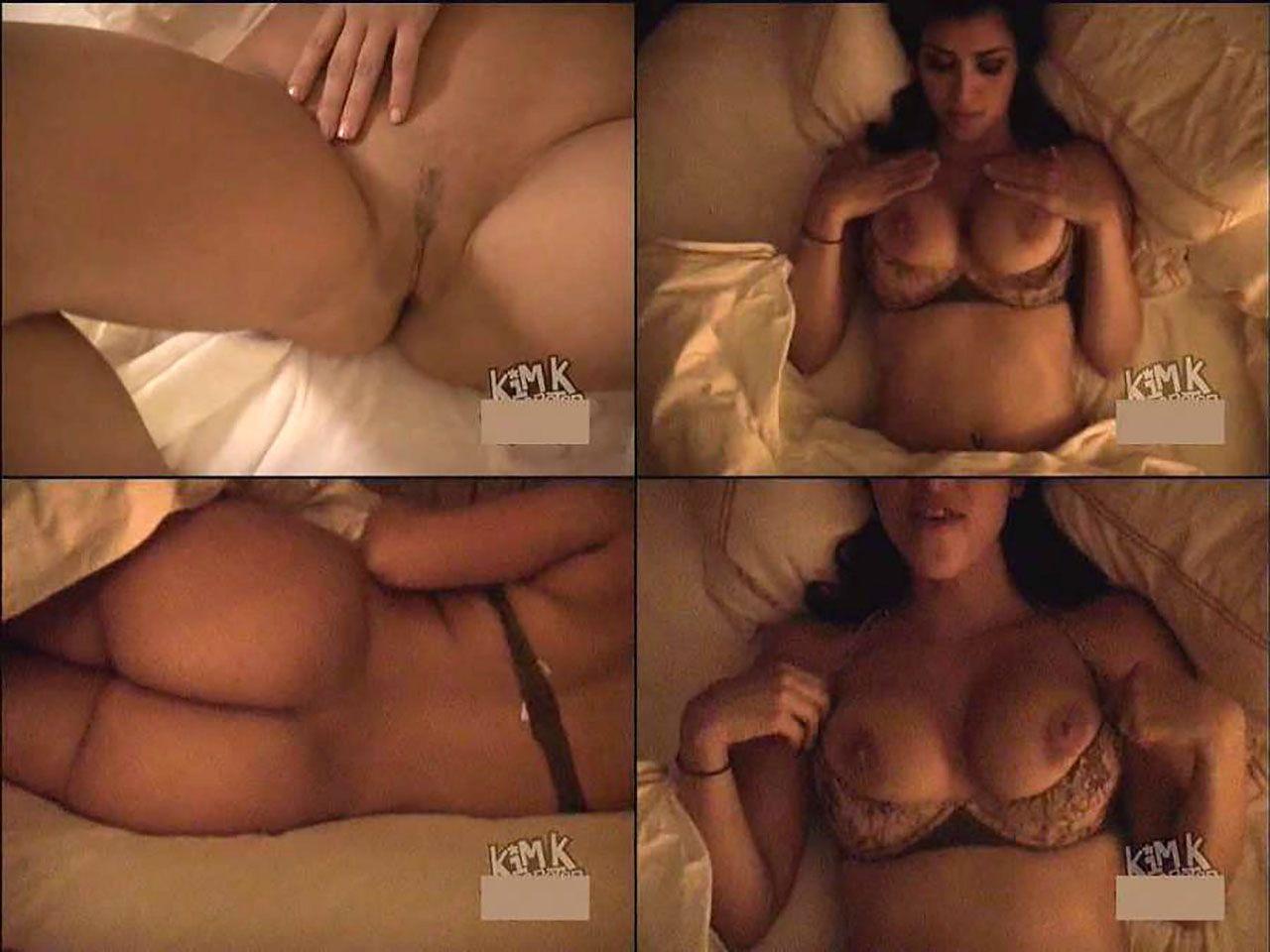 Kim Kardashian Nude And Sexy 0035