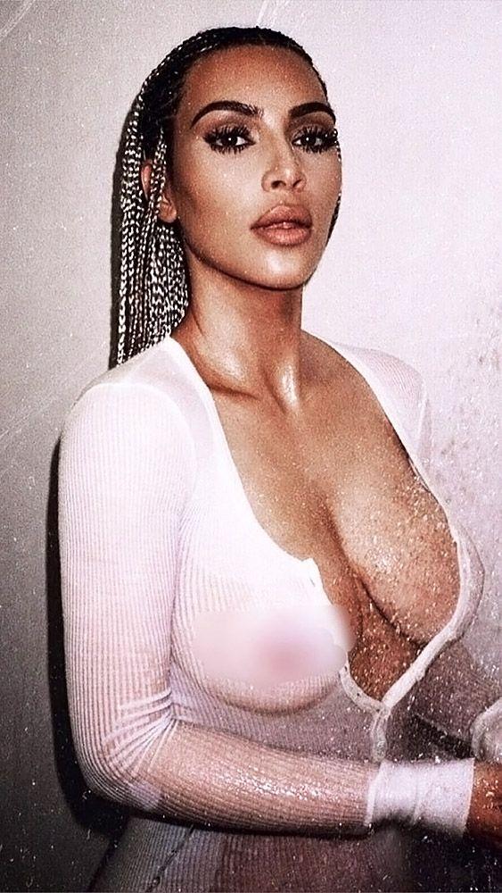 Kim Kardashian Nude And Sexy 0063