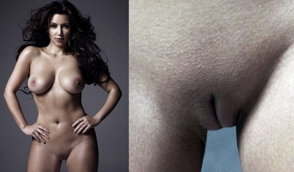 Kim Kardashian Nude Naked Topless