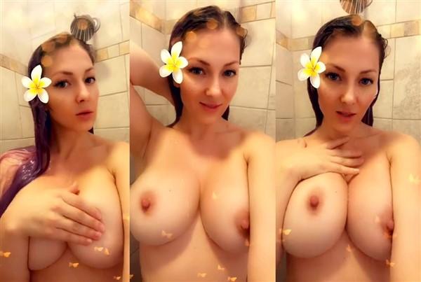 Kristen Hughey Nude Shower Video Leaked