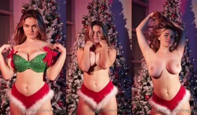 Megan Guthrie Nude Boobs Teasing In Christmas Video Leaked