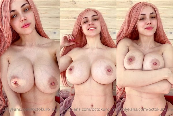 Octokuro Model Topless Titty Play Video Leaked