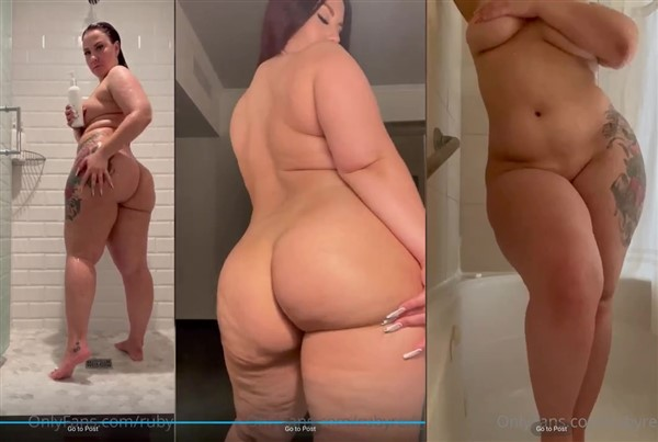 Ruby Red Nude Shower Video Leaked
