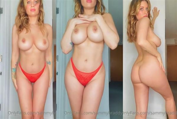 Sammy Braddy Naked Strip Tease Video Leaked