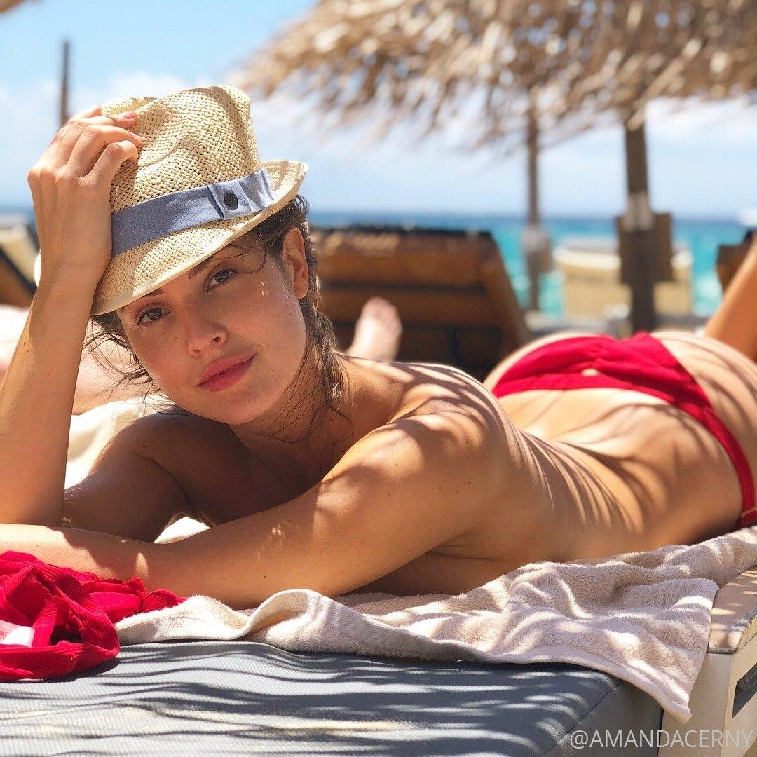 Amanda Cerny Topless Beach Onlyfans Set Leaked Upiquk