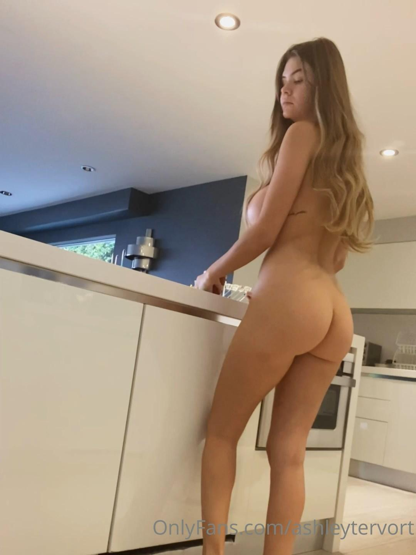 Ashley Tervort Nude Kitchen Onlyfans Video Leaked Bniqns