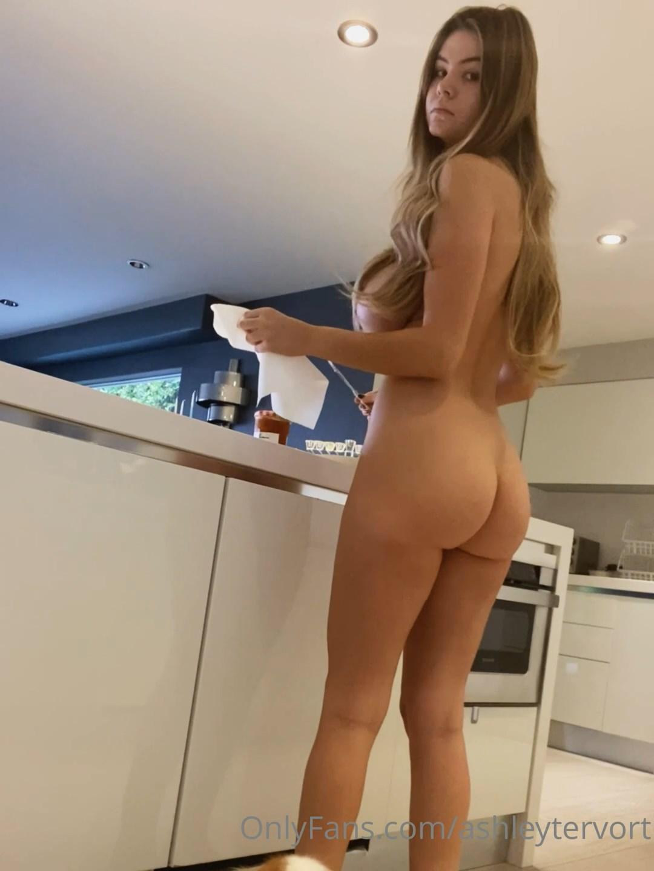 Ashley Tervort Nude Kitchen Onlyfans Video Leaked Qeuumf