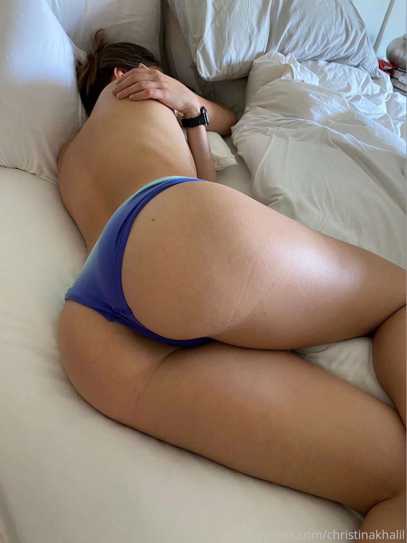 Christina Khalil See Through Lingerie Onlyfans Set Leaked Epinxd