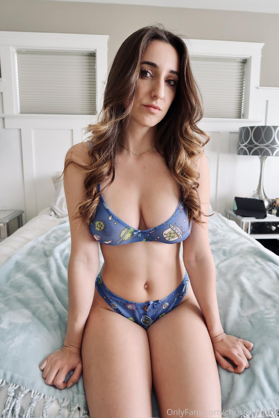 Christina Khalil See Through Lingerie Onlyfans Set Leaked Sxmirs