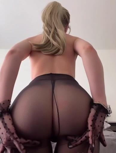 Gabby Epstein Nude Stockings Video Leaked