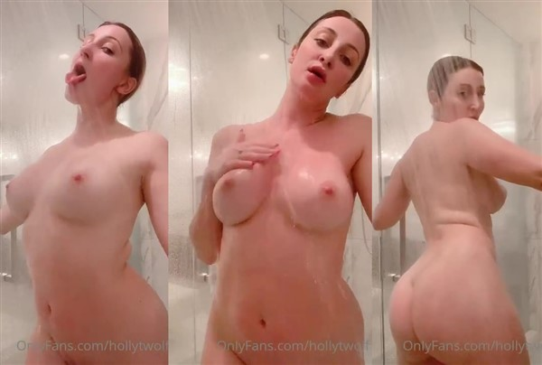 Holly Wolf Naked Shower Video Leaked