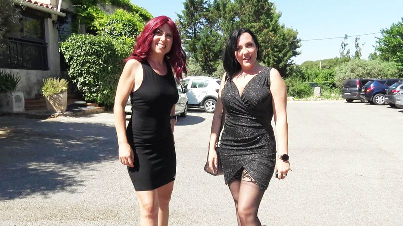 Jacquie Et Michel Tv With Marie Louise & Mya In Marie Louise Was Burning With Impatience To Meet Mya ...