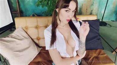 Lera Himera Nude Teasing In Mini Skirt Porn Video Leaked
